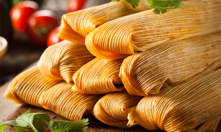 A dozen tamales