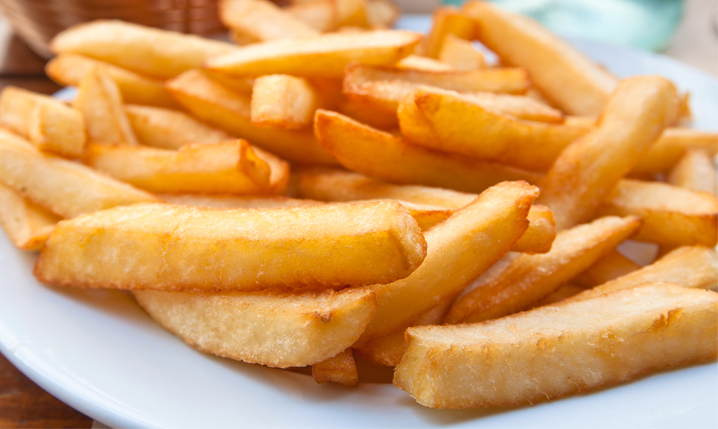 thick french fries