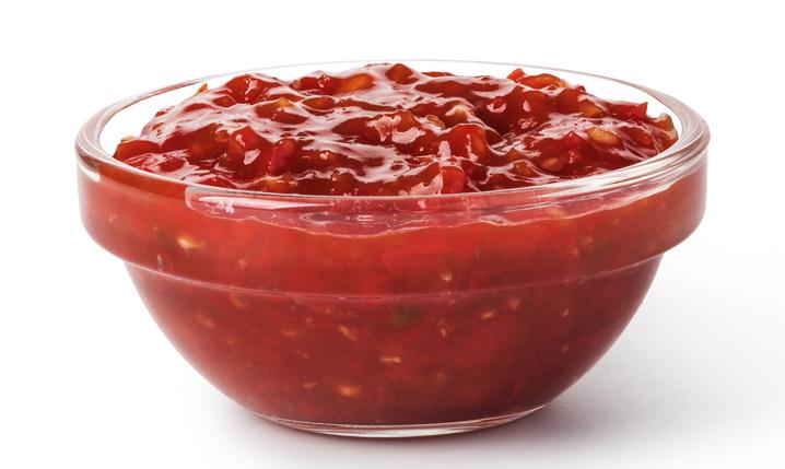 pot of hot salsa